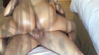 HD Indian sex movie of large a-hole desi aunty Renu