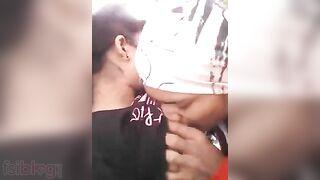 Outdoor desi mms blue film episode of teen girl Garima
