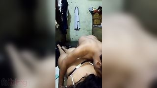Indian porn hot movie scene of desi wife Tara enjoying anal sex