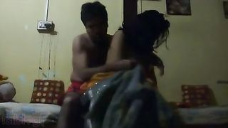 Desi sex movie of South Indian aunty with young nephew