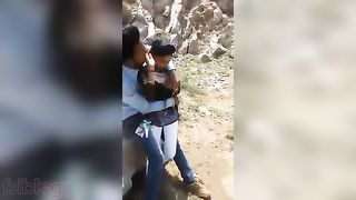 Desi mms sex scandal of South Indian college girlfriend