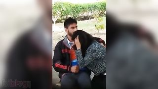 Indian pair outdoor desi mms sex scandal leaked online
