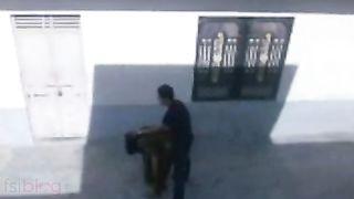Outdoor mms sex scandal of Indian bhabhi with ex boyfriend