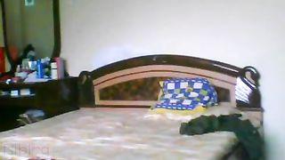 Older desi bhabhi incest home sex tape with devar