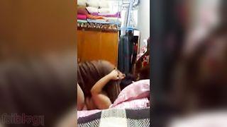 Sexy Indian Punjabi wife self made home sex episode