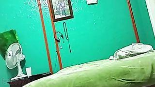 Bengaluru big wazoo college girlfriend drilled on hidden webcam