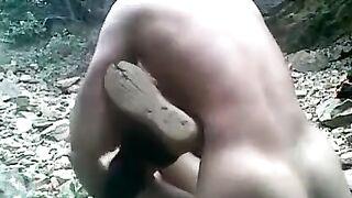 Indian virgin teen college angel 1st time sex outdoors!