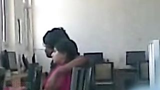 Cheating Indian wife caught on hidden webcam with office colleague