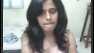 Bengaluru Non-professional Girlfriend Fingers herself for Boyfriend on Cam