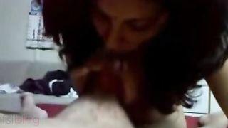 Desi Indian sister gives oral-stimulation to lustful stepbrother incest porn
