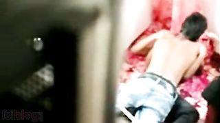 Desi Indian College Legal age teenager Girl Hidden Webcam Dripped MMS Scandal