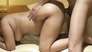 Homemade movie scene of wife gratifying with a-hole fuck