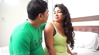 Aged Large Boobs Aunty Affair With Her Juvenile Tenant