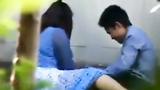 Free outdoor porn mms of nepali cutie fucked by bf