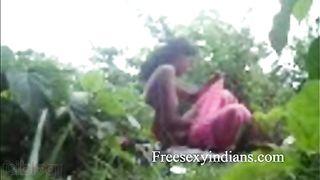 Desi sex blog presents south indian outdoor scandal