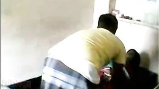 Desi mms sex scandal of village beauty drilled by shop owner