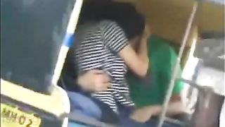 Indian sex vids of pune angel with lover in auto