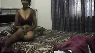 Homemade mms episode of large pointer sisters Bengali cutie