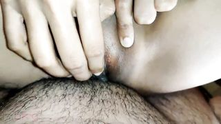 Desi wife is fucked by guy with hairy belly and legs in home XXX video
