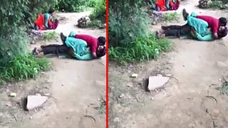 Outdoor Indian Sex! Rajasthani couple sex MMS video released online