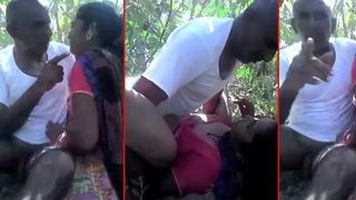 Desi mms sex scandal of South Indian aunty fuck