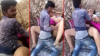 Indian outdoor sex video in Bangalore captured and exposed by friend