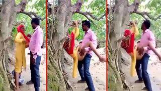 Desi Indian village bhabhi devar XXX incest sex