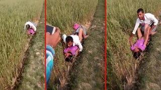 Desi village aunty passionate outdoor fuck with devar mms scandal