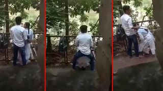 Outdoor Indians MMS sex scandal of bhabhi with EX lover