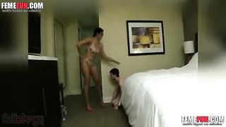 Indian mom domination over son XXX sex video