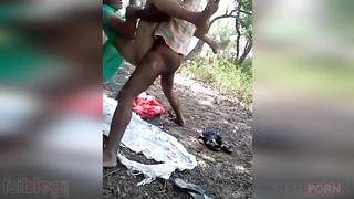 Outdoors Randi Chudai XXX MMS sex video